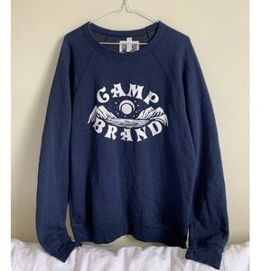 🖤Men's Camp Brand Goods Crewneck🖤